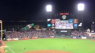 【SF】Take Me Out to the Ball Game (@AT&T Park) [AT&Tパーク]