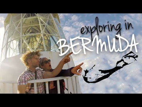 Exploring In Bermuda! Spittel Pond, Gibbs Lighthouse, Bermuda Radio