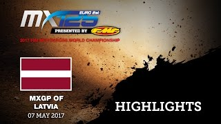 MXGP of Latvia Race 2 EMX 125 Presented by FMF Racing_HIGHLIGHTS