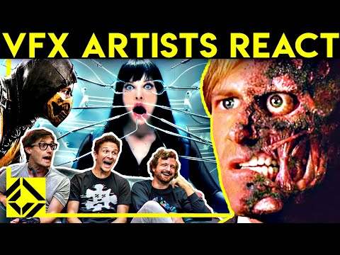 VFX Artists React to Bad & Great CGi 10