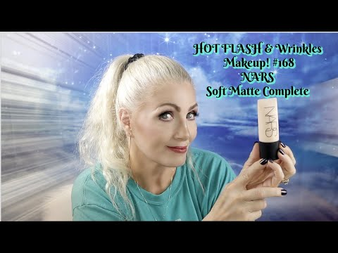 HOT FLASH & Wrinkles Makeup! #168 - NARS Soft Matte Complete Foundation - Bentlyk
