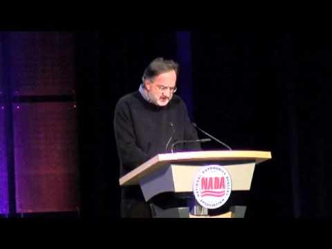 2012 NADA Convention, Sergio Marchionne, CEO, Chrysler