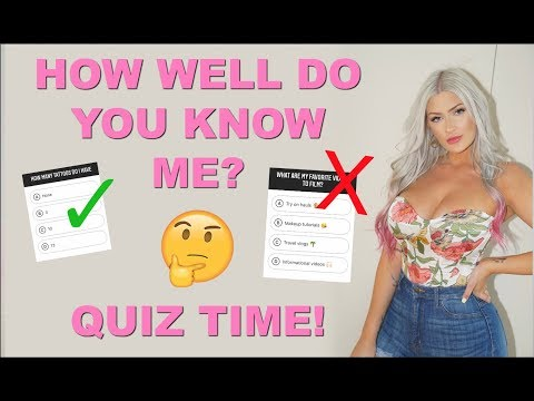 🤔 HOW WELL DO MY FOLLOWERS KNOW ME? 👏🏻 Q&A