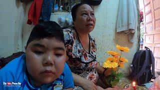 Hạnh phúc thấy cháu bé suy thận và người ba bỏ hai mẹ con giữa dòng đời biết phấn đấu | Phong Bụi