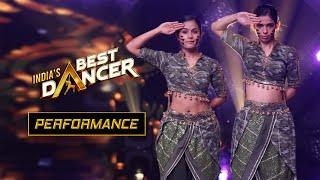 India's Best Dancer - Swetha Warrier & Bhawna Khanduja - Women Power - Mardaani - Street O Classical Thumb