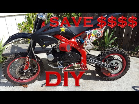 CUSTOMIZING A DIRT BIKE