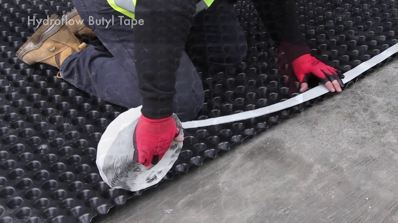 The three types of waterproofing