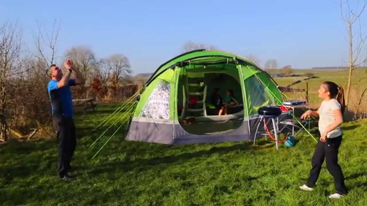 6739b4f7772 Hi Gear Voyager Elite 6 Family Tent - YouTube