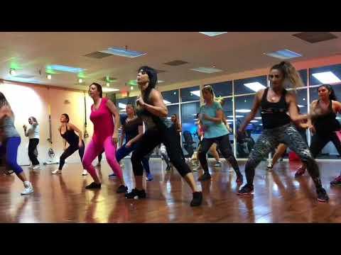 Zumba Class in Miami SunnyIsles Beach with Lucky Zumba , choreographer and miami dancer/PROMO