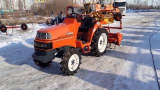 Малогабаритный трактор для сельхоз работ Видео