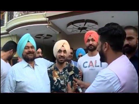 Diljit Dosanjh's Visit To Hockey Player Sandeep Singh's house | Rangli Duniya | PTC Punjabi