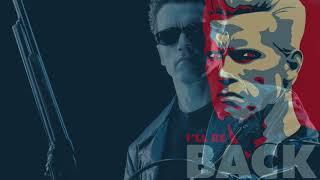 The Terminator - Synthwave Retro