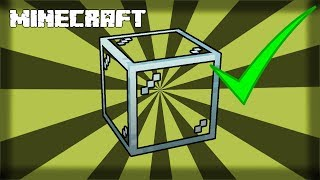 MINECRAFT  How to Make Glass! 1.14.4