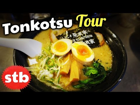Tonkotsu Ramen Noodles Tour in Tokyo, Japan // Hunting for t