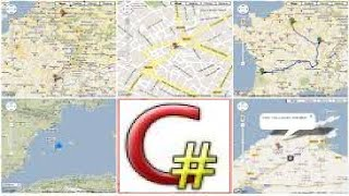 c programming tutorial google maps from vs net with code part 5