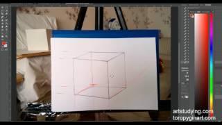 Обучение рисунку. Введение. серия 1.02 ошибки в перспективе