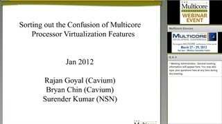 Sorting out the Confusion of Multicore Processor Virtualization Features