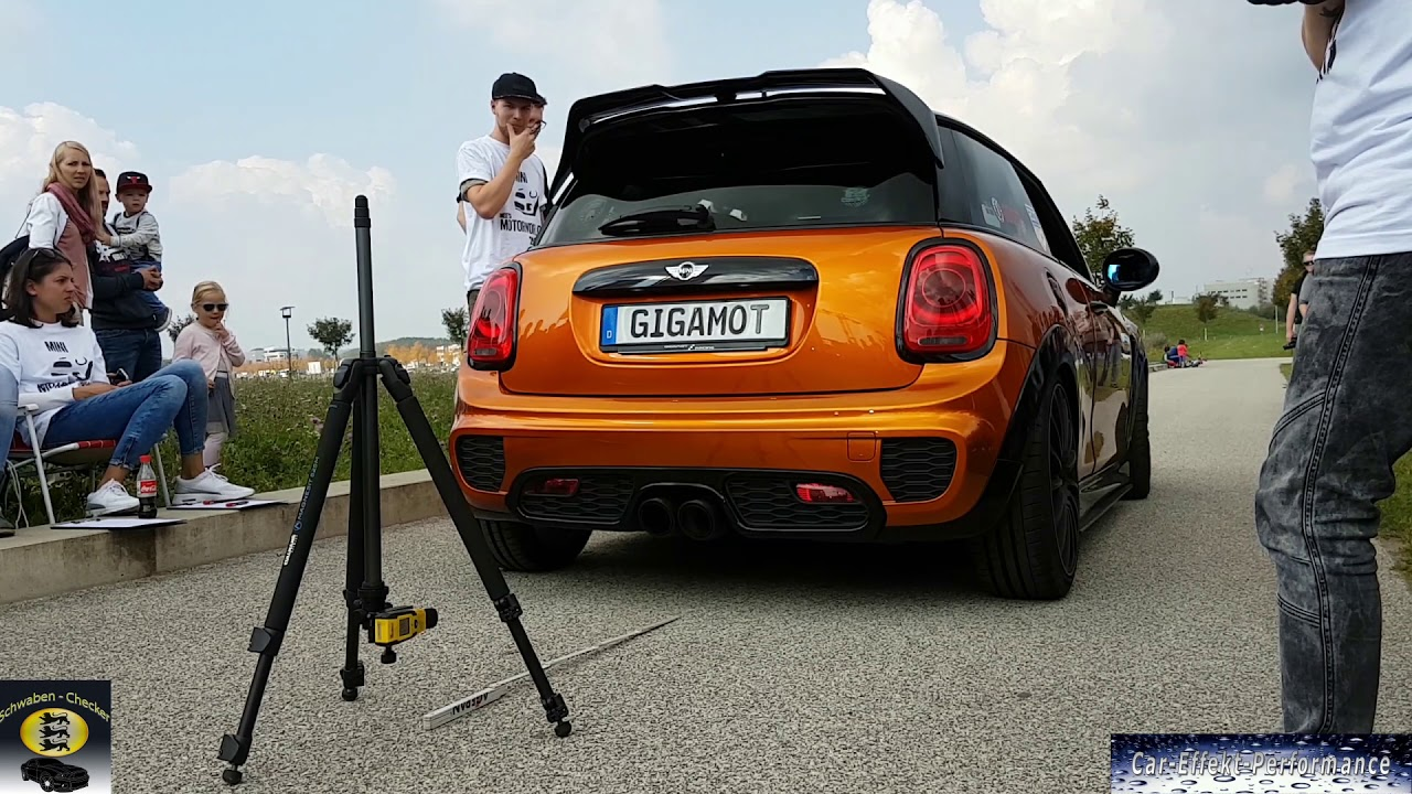 Db Messung Mini Cars Tuning Exhaust Revs Standgas Mini Meets