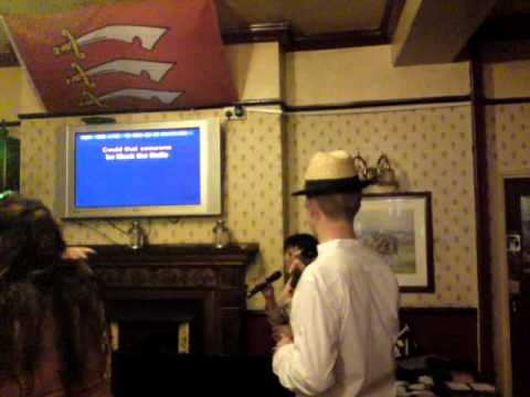 The Governor. Karaoke night at The Essex Arms, in Brentwood, Essex