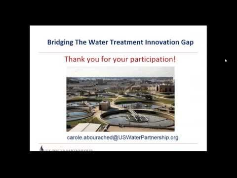 How to bring wastewater treatment technologies to market faster?