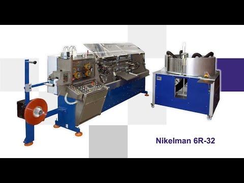 NIKELMAN - Process Of Shirring Hot Dog Casing - Nikelman® 6R-32