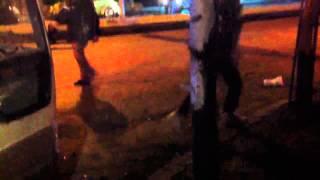 سقوط قذيفة هاون في ابو ر٠  انة Video