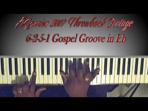 6-2-5-1 Gospel Groove in Eb - AGpraise 2007 Throwback