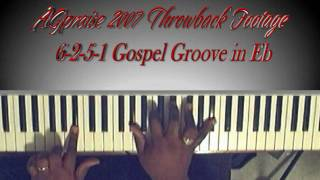 6-2-5-1 Gospel Groove in Eb - AGpraise 2007 Throwback