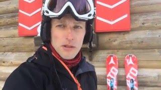 Тест горных лыж Atomic Redster Double deck 3 SL  2015-2016 год