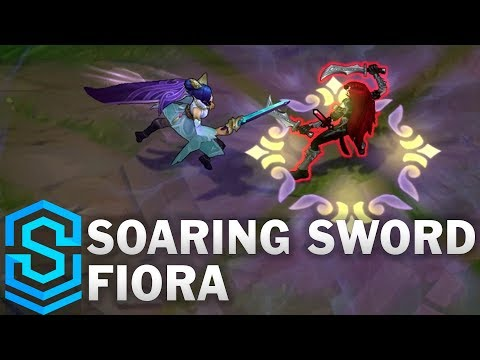 Soaring Sword Fiora Skin Spotlight - League of Legends