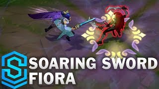 Soaring Sword Fiora Skin Spotlight - League of Legends