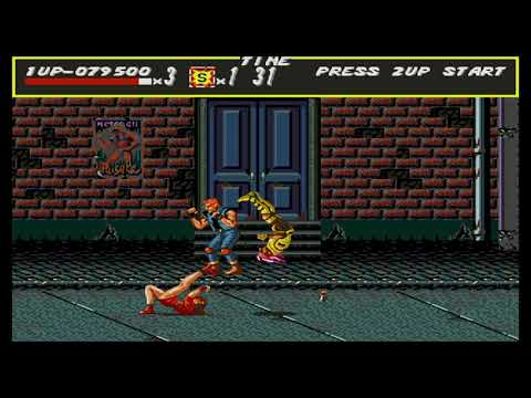 Streets of Rage 1º parte  Play Games System  