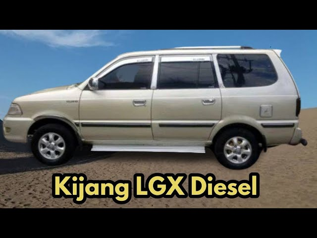 Info Harga Mobil Bekas Kijang Lgx Diesel 1997 2002 Youtube
