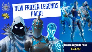 NEW! FORTNITE FROZEN LEGENDS SKIN PACK! FROZEN RED KNIGHT! FROZEN RAVEN! FROZEN LOVE RANGER!