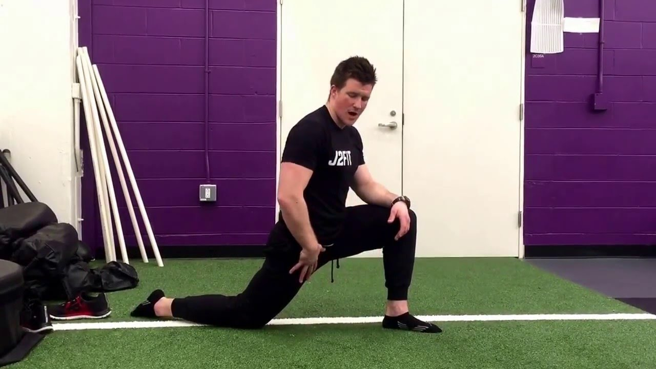 Hip Flexor Stretch + FRC Isometric Contractions (PAILS and RAILS)