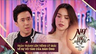 Trấn Thành lên tiếng lý giải với Hồ Ngọc Hà về sự vô tâm của đàn ông | Gala Nhạc Việt (Official)