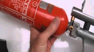 Carabina PCP com extintor