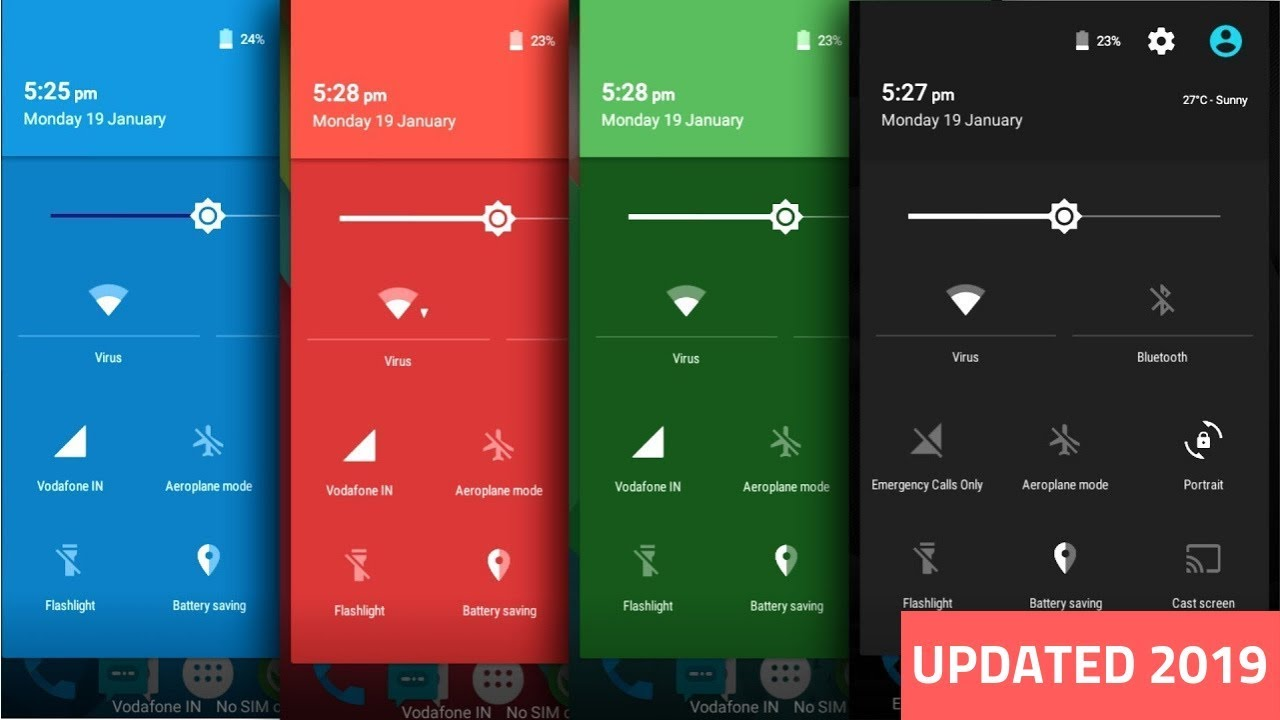 Change Status Bar Color on Good Lock For Any Android (NO ROOT)