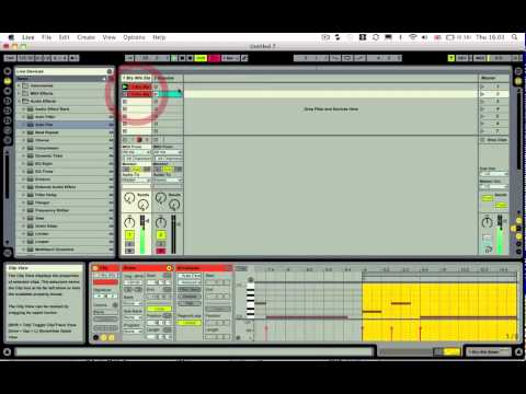 how to make a sidechain in ableton