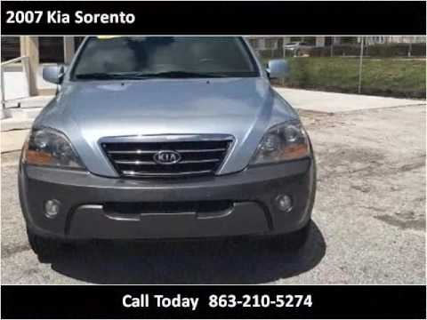 2007 Kia Sorento Used Cars Lakeland FL