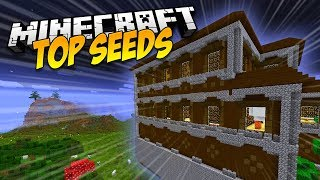 ✔️ 5 SEMILLAS CON MANSIONES MUY CERCA - MINECRAFT TOP SEEDS 2018