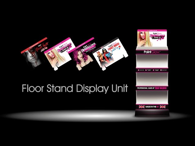 Building the Paintglow™ Floor Stand Display