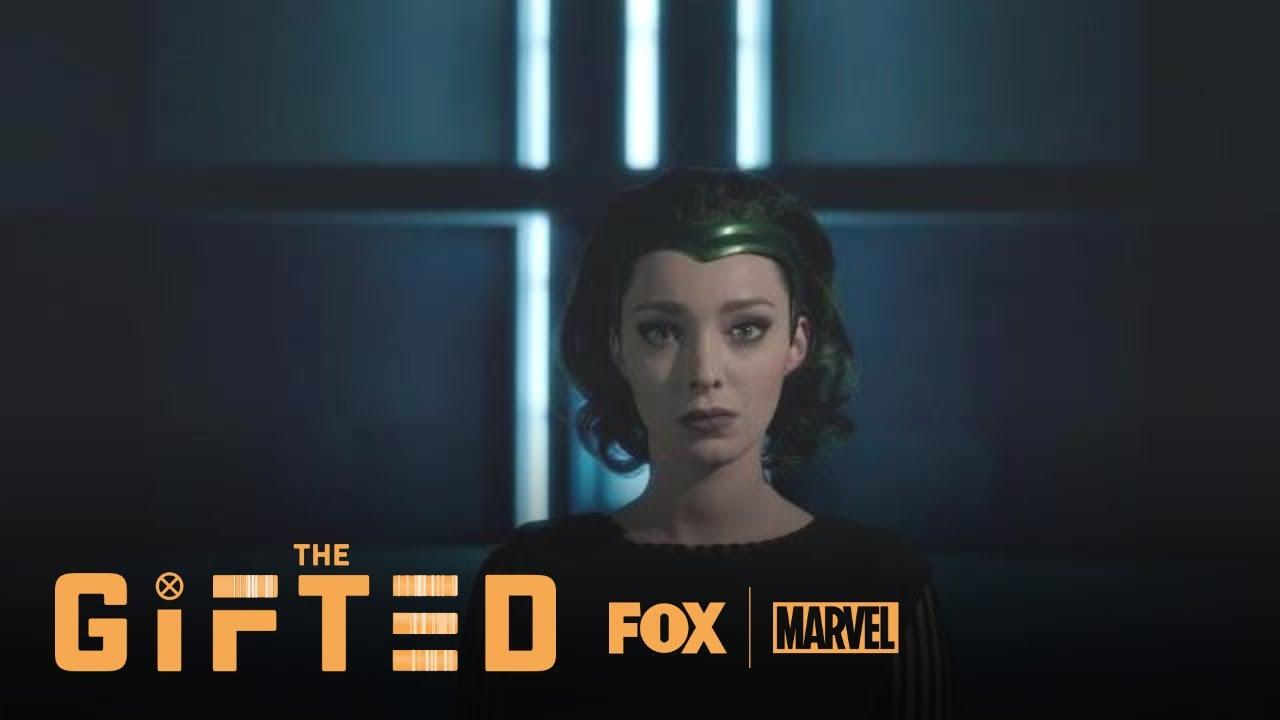 Download Polaris Makes Magneto's Medallion Into A Headband | Season 2 Ep. 8 | THE GIFTED