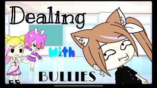 Dealing with bullies (funny skits) gacha life {READ DESCRIPTION PLEASE}