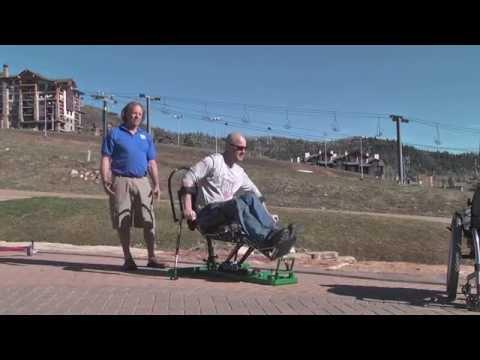 Innovative Adaptive Technologies - Sit Ski Trainer Introduction Video #2