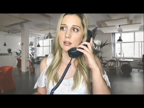 ASMR Office Assistant Gets You Ready For Job Interview {Soft Spoken}