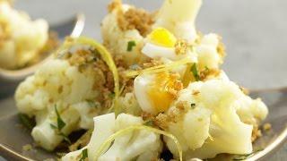 Цветная капуста в панировочных сухарях. Цветная капуста с яйцом на сковороде.