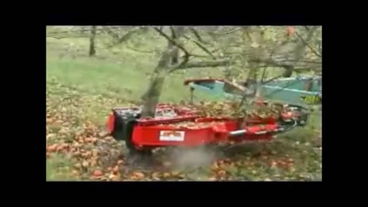 AMB-Rousset - VHP Hydraulic tree shaker