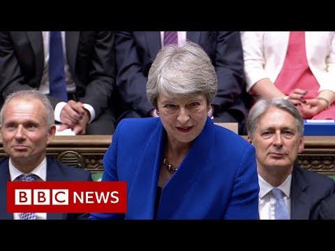 Theresa May's final PMQs - BBC News