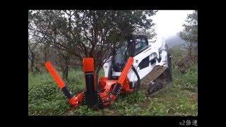 樹花園TreeGarden:全台灣業界第一台挖樹機!
